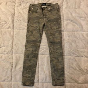 Hudson Jeans Nico Mid Ride Ankle Camo 27